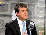 """Valls sur BFTMV : """"créer tous les ans"""" près de """"500 postes"""" de policiers et de gendarmes"""