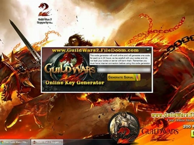 Guild Wars 2 Redeem Codes Giveaways - video dailymotion