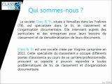 Class & Tri - Services en Organisation et dématérialisation documentaire en Yvelines, Ile-de-France