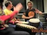 Cours percussions africaines mandingues - Association Vivre Le Monde (Brest)