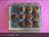 Recette de cakes à l'extrait de Stévia, avocat gingembre par Le miam miam blog - Pure Via