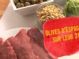 Saveurs d'olives ! Saveurs d'Espagne ! Un dîner  chic et gourmand