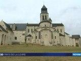 Maine et Loire : l'abbaye de Fontevraud