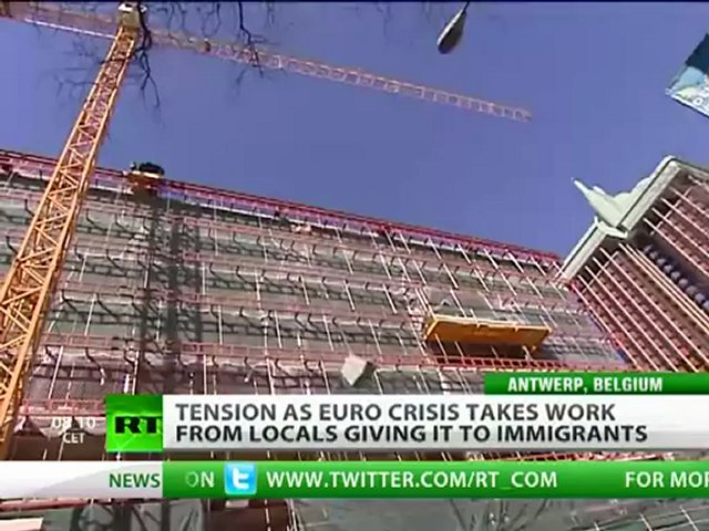Job Asylum: Euro crisis takes work from locals to immigrants