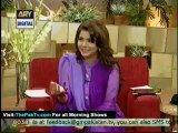 Good Morning Pakistan By Ary Digital - 12th September 2012 - Part 3/4