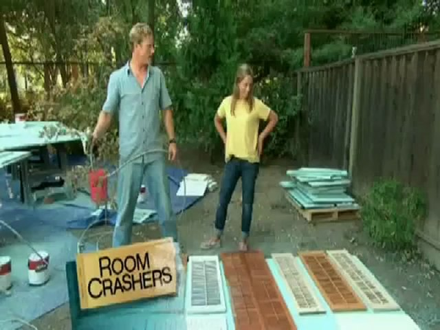 ETO Doors - Featured on the TV remodeling show- DIY Network -- Room Crashers