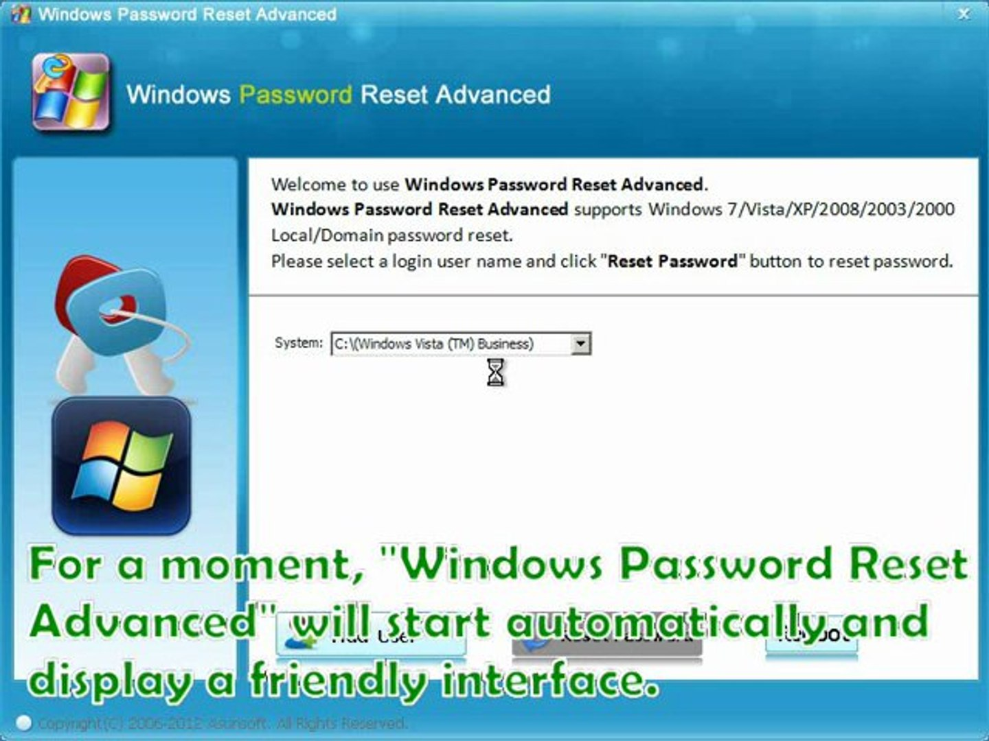 free password recovery software for windows vista
