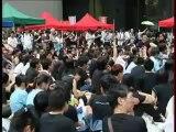 Le mouvement anti-lavage de cerveau s'intensifie à Hong Kong