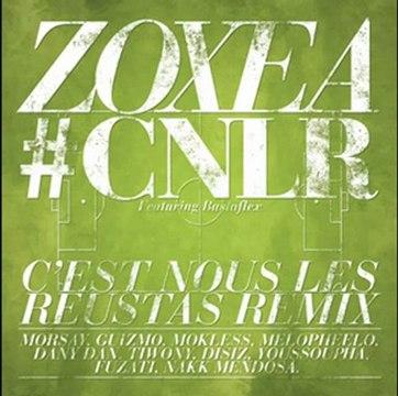 Morsay Zoxea Feat  disiz sage po youssoufa V.A - C'est Nous Les Reustas { Remix }