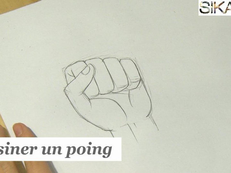 Comment Dessiner Un Poing Hd