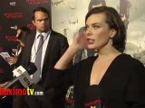 "Milla Jovovich Interview at ""Resident Evil: Retribution"" Los Angeles Premiere"
