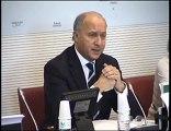 Audition de Laurent Fabius devant la Commission des Affaires étrangères de l'Assemblée nationale