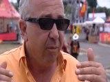 Patric Roux interviewé à l'Estivada de Rodez