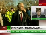Silenced: WikiLeaks shuts down, Assange vows to fight