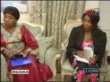 La représentante de l'UNICEF au Congo reçue par Antoinette Sassou N'Guesso