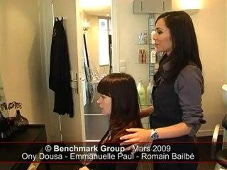 Le relooking coiffure de Stéphanie chez Bureau d'Image