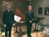 Vincent Lauzer à la flûte à bec et Mark Edwards au clavecin -  Maison de la Musique Sorel-Tracy