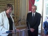 Remise des insigne de l'Ordre National du Mérite - Paris, le 03/09/2012