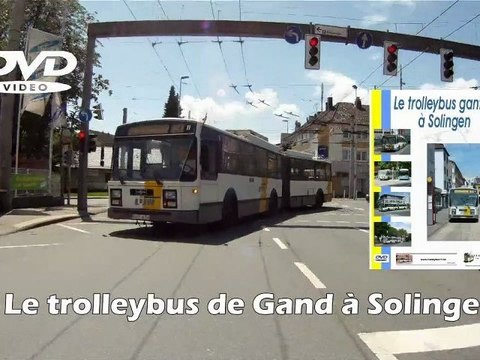 Ex-Ghent trolleybus11 in Solingen (DVD promo)