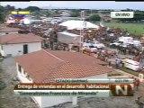 (Vídeo) Presidente Chávez entrega viviendas en Barinas