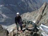 Ascension du rateau avec Kévin (3769 m - Massif de la Meige - Parc national des Ecrins)