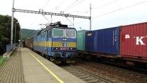 Lokomotiva 363 037-3 a 363 072-0 - Ústí nad Orlicí město, 27.8.2013 HD