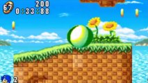 Sonic Advance - Sonic : Neo Green Hill Zone Act 1