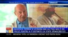 Traian Basescu, la Harghita In Banatul sarbesc, lucrurile sunt in regula, in Valea Timocului nu