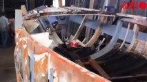 Visite du chantier naval Duboscq-Hurel - Chantier naval