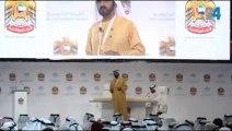 الشيخ محمد بن راشد في القمة الحكومية