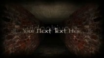 Scary Tunnel - After Effects Template