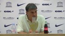 Martino: ''Nos hacemos fuertes a través de los resultados''