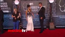"Jenni ""JWOWW"" Farley and Roger Matthews 2013 MTV Music AWARDS Red Carpet"