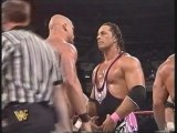 The Hart Foundation vs.Steve Austin,Goldust,Ken Shamrock & LOD (German)