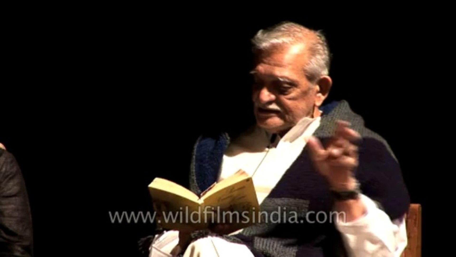 Z-1-Discussion with Gulzar, Pawan Verma and Sukrita Paul Kumar-Part-9