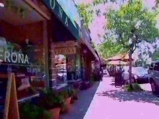 Sidewalk Cycling Through North Hollywood and Studio City