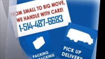 Laval movers - Laval moving company