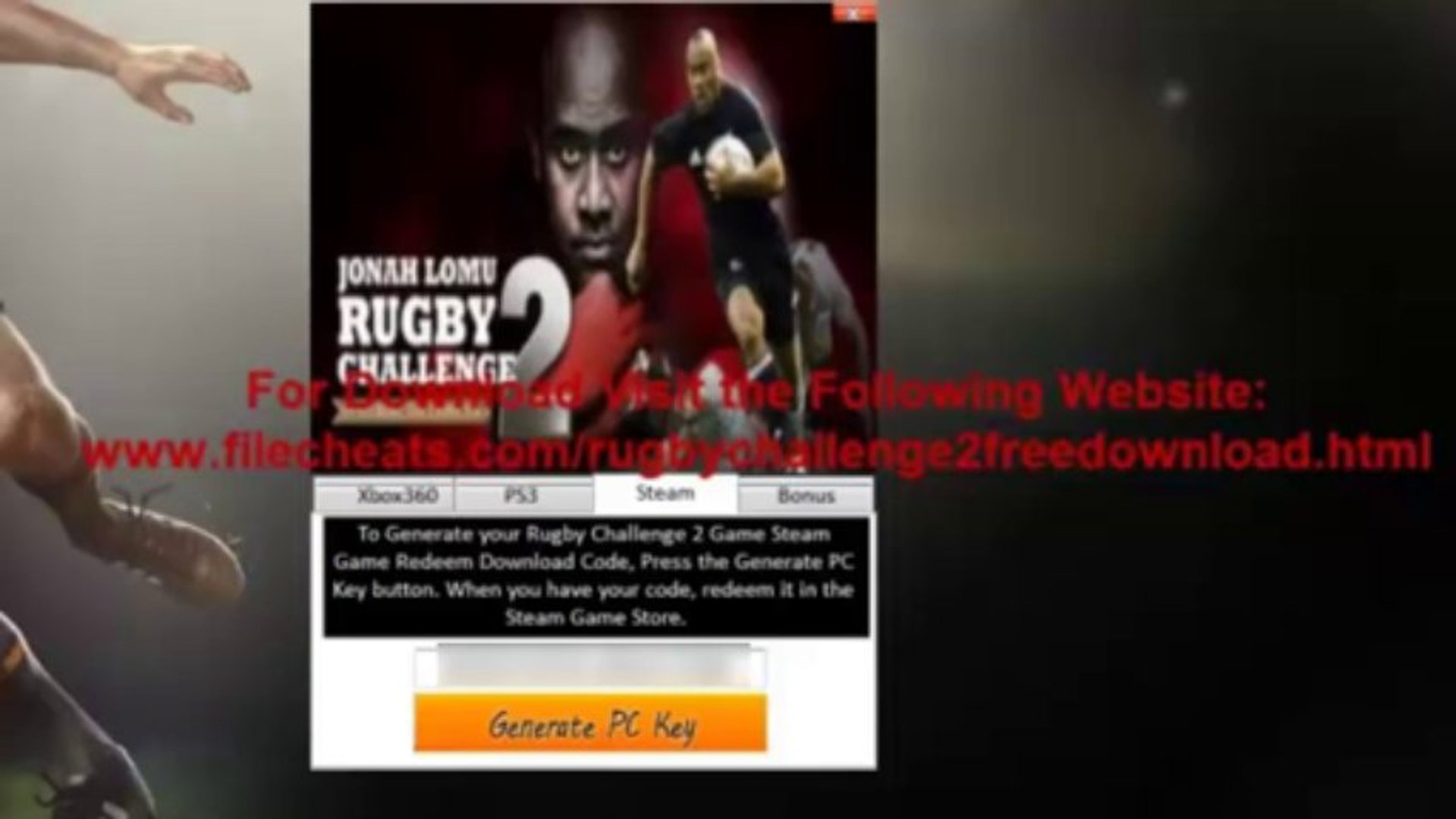 RUGBY 2 CHALLENGE LOMU JONAH PC TÉLÉCHARGER