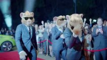 Hamster running on Lady Gaga new song : yes, it's a commercial ads for Kia.