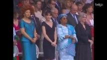 Des troupes africaines défilent à Paris