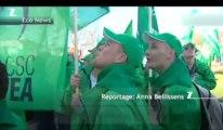 20.000 manifestants ont protesté contre l'austérité