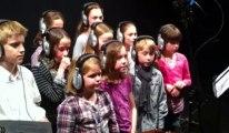 Enregistrement des Enfantastiques de l'école St-Bernard