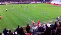 Charleroi en D2: les incidents avec les supporters carolos (vidéo 2)
