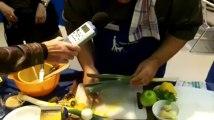 Cuisiner à l'aveugle: le chef étoilé Laury Zioui aux Arts ménagers