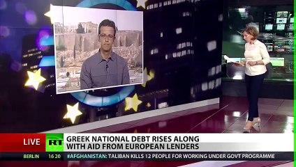 Greek debt rises - Russia Today