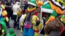 Dimanche gras au carnaval de Binche