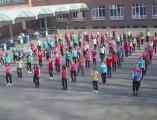 Mouscron: 125 élèves de Saint-Henri ont dansé un flashmob (2)