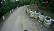 Le circuit Supermoto de Florennes en caméra embarquée avec Sébastien Soyeurt