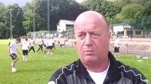 Foot (D3B): le RFC Huy en stage à Vielsalm, la vidéo du coach Alain Dheur