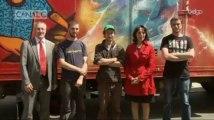 La fédération Wallonie-Bruxelles lance son camion des festivals sur les routes